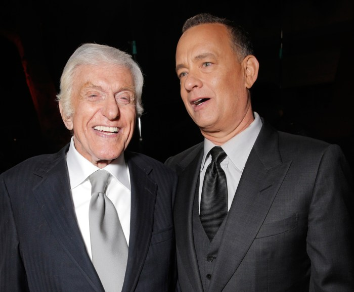 IMAGE: Dick Van Dyke and Tom Hanks