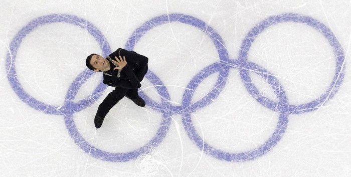 Lysacek, an Olympic gold medalist in 2010, has cut short his bid to qualify for the 2014 Winter Olympics due to a labrum tear in his left hip but has not ruled out an eventual return to competitive skating.