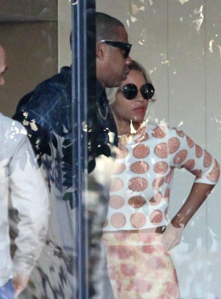 Image: Beyonce, Jay Z