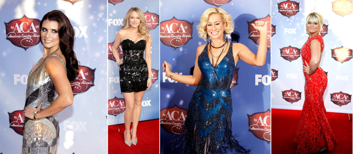 Danica Patrick, Jewel, Kellie Pickler, Lauren Alaina, Jessica Walker