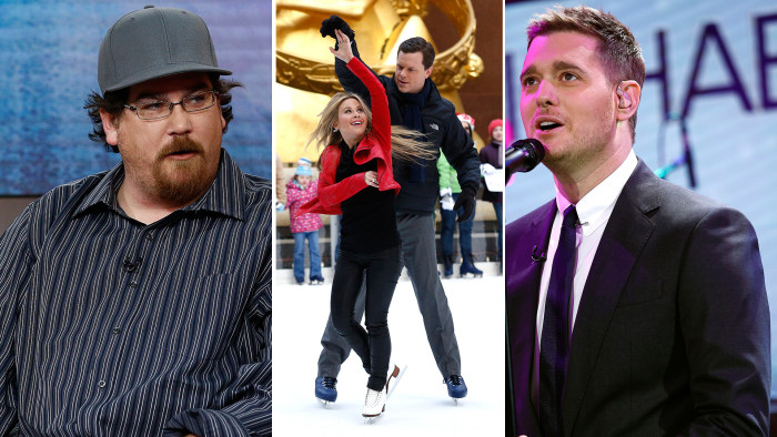 The rescued Nevada family talks about their ordeal, Willie shows his suave skating moves and Michael Buble serenades.