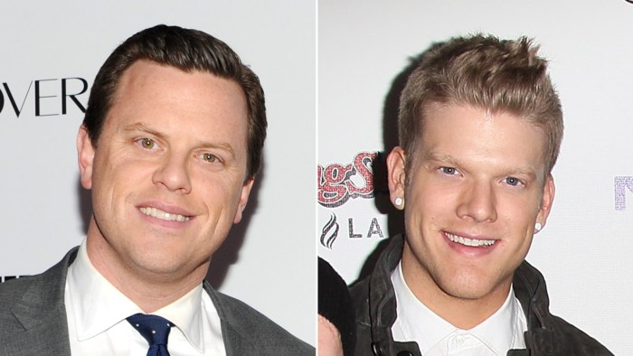 Willie Geist and Scott Hoying