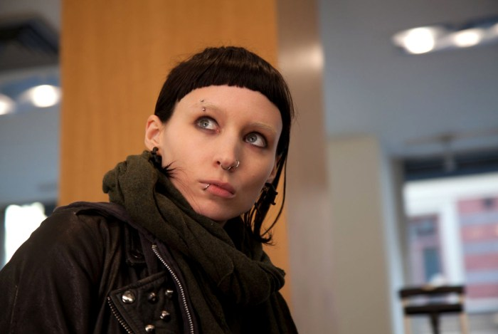 "Rooney Mara starred in the movie adaptation of Stieg Larsson's ""The Girl with the Dragon Tattoo."""