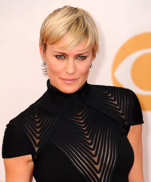"Robin Wright plays the stylish and confident Claire Underwood on ""House of Cards."""