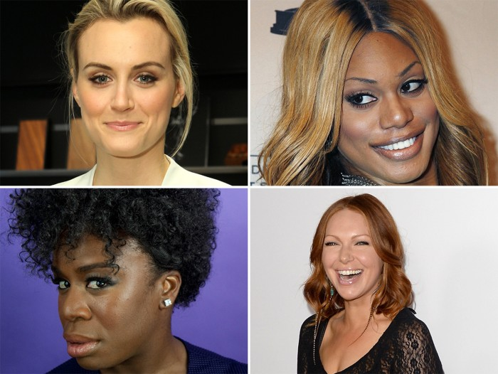 "Some of the cast of ""Orange is the New Black."""