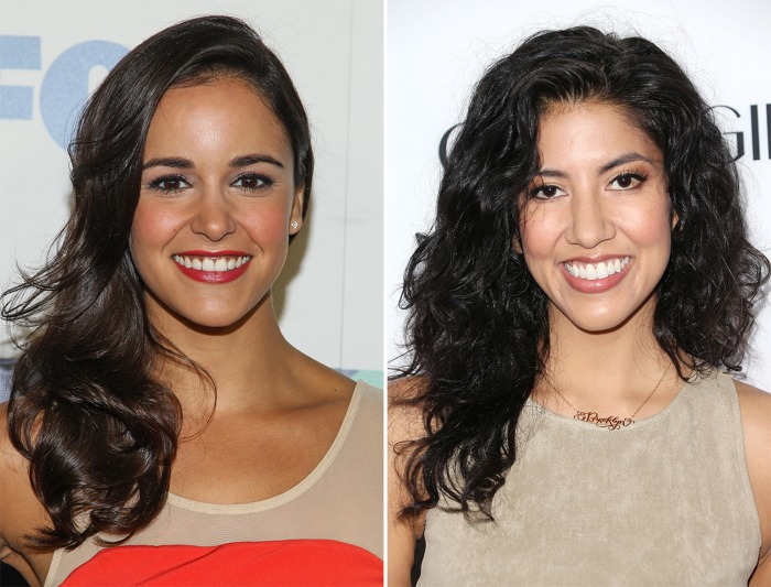 "Melissa Fumero and Stephanie Beatriz star on ""Brooklyn Nine-Nine."""