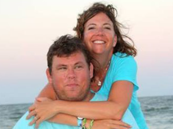 Chris Tuttle and his sister, Jamie Virkler.
