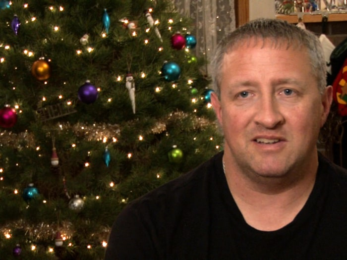 David told NBC News he was in shock at Brenda's wishes for his new family.