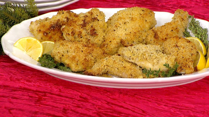 Ina Garten's crispy chicken