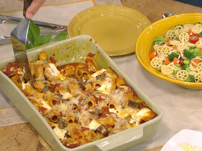 Jamie Deen's pastas and desserts