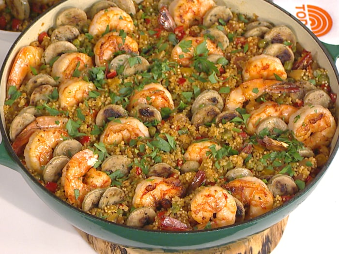 One pot shrimp paella