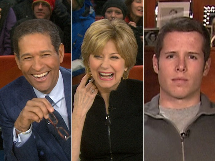 Bryant Gumbel and Jane Pauley join Matt on his birthday, and Edwin LaMair shares details of his ski rescue.