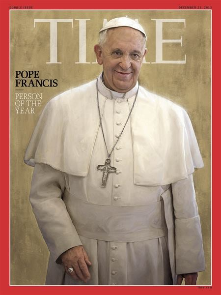 Just in! Pope Francis is TIME's Person of the Year. Do you agree with the decision?