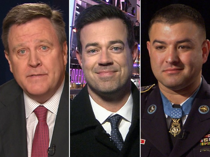 "U.S. Olympic CEO is ""concerned"" about the Russian bombings, Carson Daly previews Times Square ahead of the new year and Medal of Honor recipients reflect on their awards."