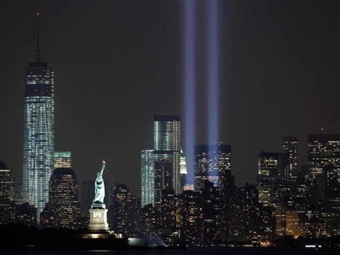 """America remembers. On this 12th anniversary of the 9/11 attacks, the nation honors those who were lost."" – Matt Lauer"