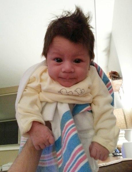 Ryland Noah Del Prete, born Dec. 5.