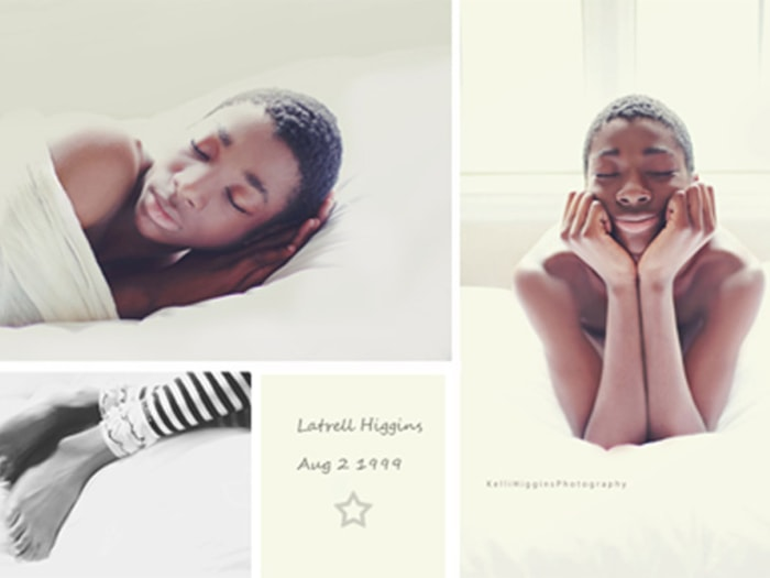 adoptive mom s newborn photo shoot with 13 year old son