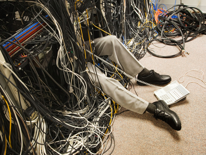 get rid of the cable mess in your home