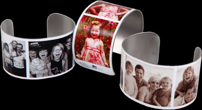 Display your favorite photos on your wrist with Pickture That bracelets.