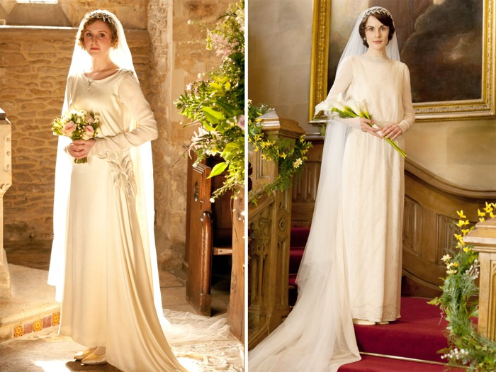 Downton Abbey Edith Goes From Weak Sister To Radiant
