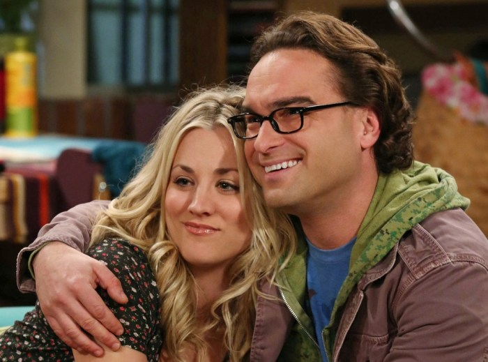 Are Big Bang Theorys Leonard And Penny Getting Engaged Today