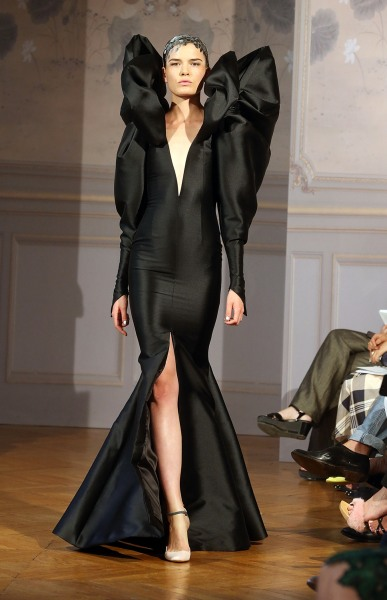An Alexis Mabille design, shown as part of Paris Fashion Week Haute-Couture on July 1, 2013.