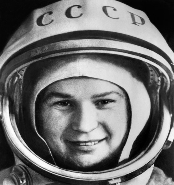 Valentina Tereshkova became a national hero in Russia in 1963 when she piloted the Vostok 6 and became the first woman to fly in space.