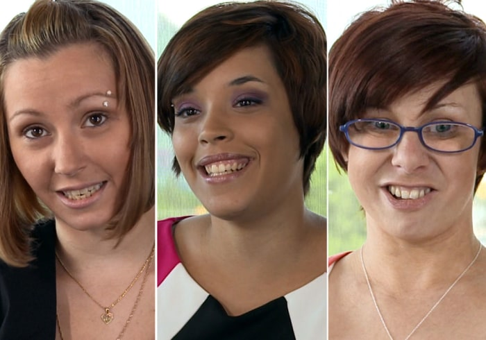 Amanda Berry, Gina DeJesus and Michelle Knight