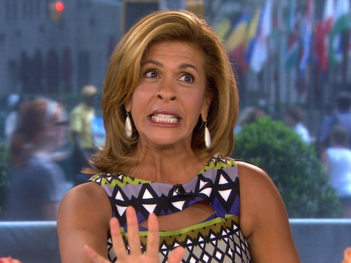 Hoda described her travel troubles on Wednesday.