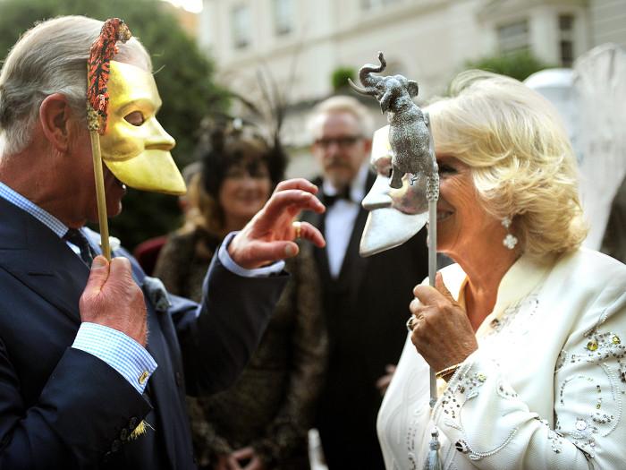Image: Prince Charles and Camilla, Duchess of Cornwall