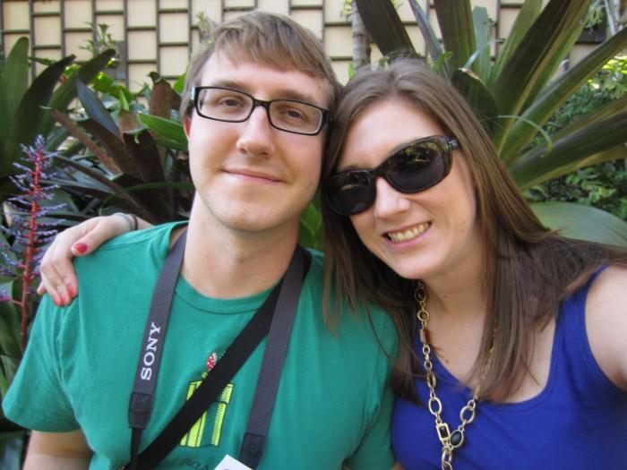 Richard Smith and Nicole Kendrot