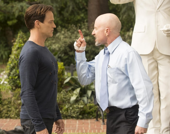 """Image: Bill and Governor on """"True Blood"""""""