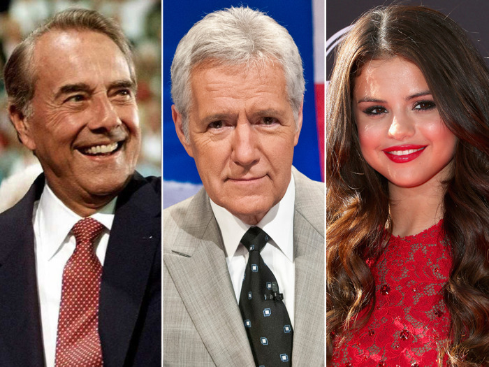 Bob Dole, Alex Trebek and Selena Gomez share their birthdays with the new prince.