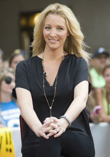 "TODAY -- Pictured: Lisa Kudrow appears on NBC News' ""Today"" show -- (Photo by: Virginia Sherwood/NBC)"