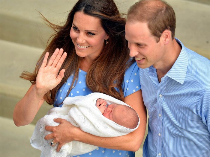 The infant will be third in line to the British throne, after his father and grandfather, Prince Charles. He is the first grandchild for both Prince Charles and the Middleton family.