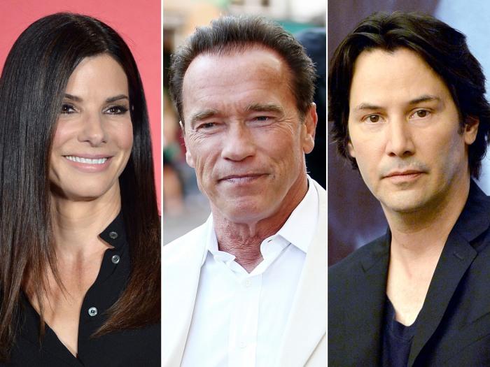 IMAGE: Bullock, Schwarzenegger, Reeves