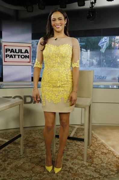 Paula Patton Wednesday, July 31, 2013, in New York, NY (Rebecca Davis / TODAY)