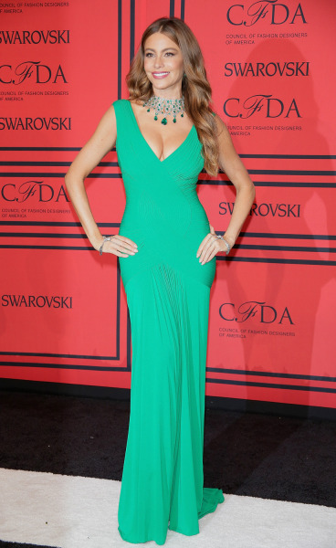 Sofia Vergara at the 2013 CFDA Fashion Awards in New York.