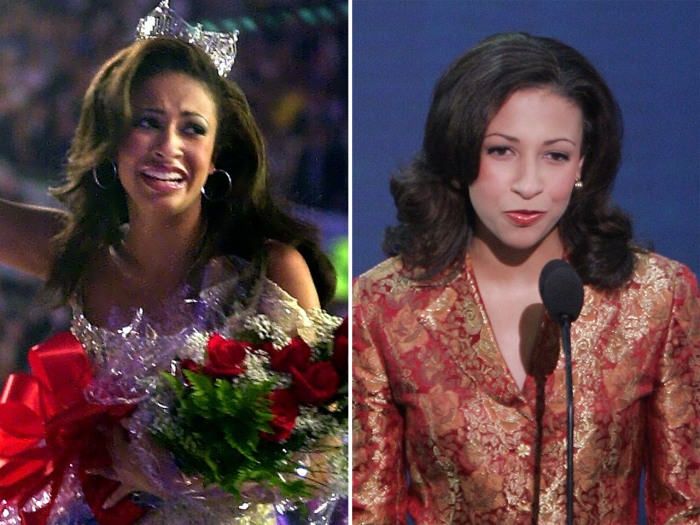 Former Miss America Erika Harold is now making a bid for political office.