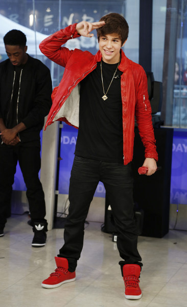 Austin Mahone Monday, June 10, 2013, in New York, N.Y. (Rebecca Davis / TODAY)