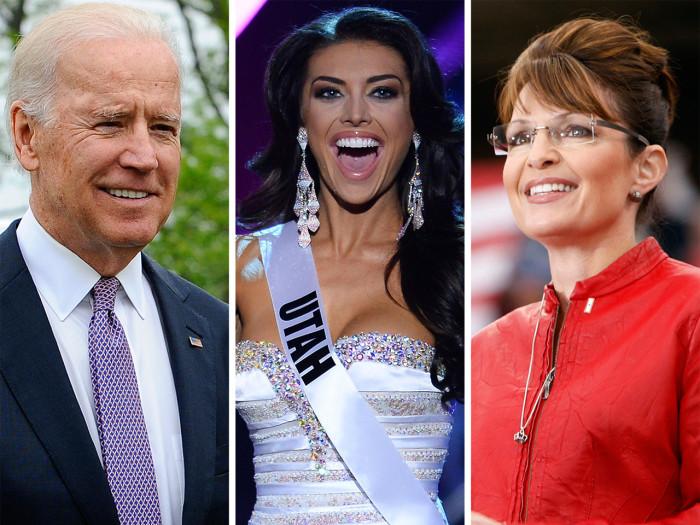 Joe Biden, Miss Utah, and Sarah Palin have made some famous mistakes.
