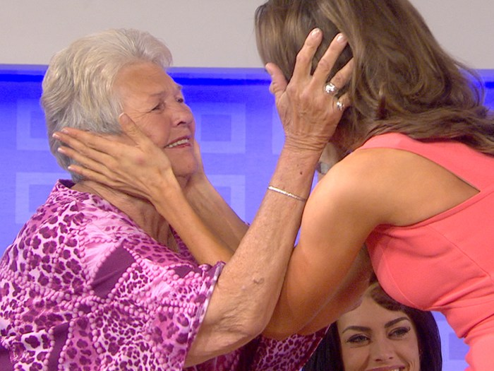 Recently-crowned Miss USA Erin Brady has a surprise reunion on TODAY with her grandmother, Theresa Brady, who inspired her as a young girl.