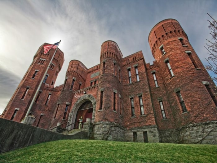 Image: Armory building for sale as a home