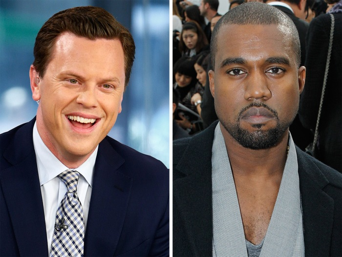 Willie Geist briefly thought he might have gotten a shoutout from Kanye West.