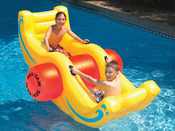 see-saw water rocker