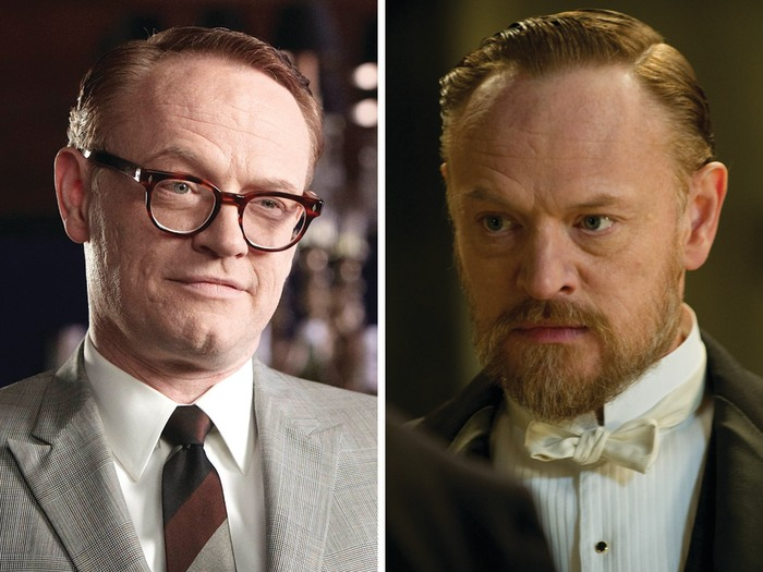 "Image: Jared Harris as Lane Pryce on ""Mad Men"" and Moriarty in ""Sherlock Holmes: A Game of Shadows."""