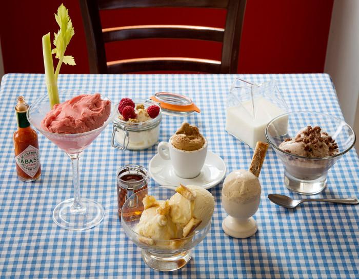 Comboco's breakfast gelatos