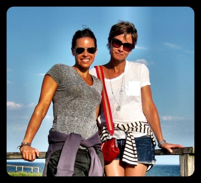 Jenna Wolfe and Stephanie Gosk