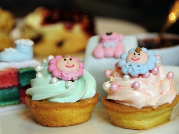 Londoners and tourists can celebrate the arrival of the new British heir with a royal baby shower-themed afternoon tea at St. James's Hotel in London.