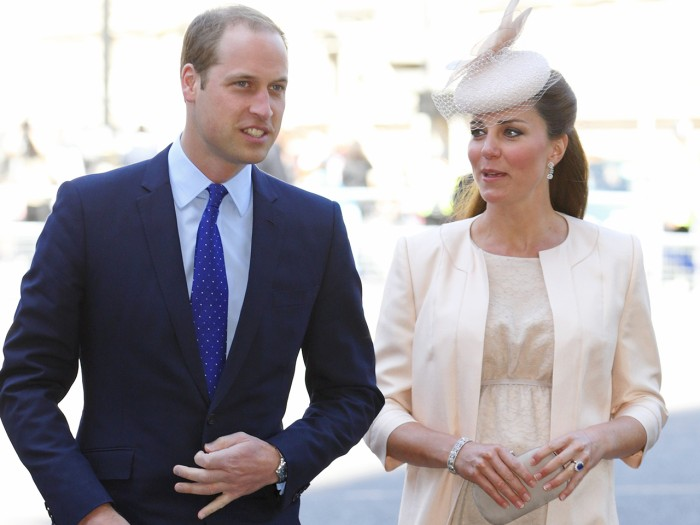 Palace officials said the royal couple, shown here on June 4 in London, truly did not know whether they were having a girl or boy.